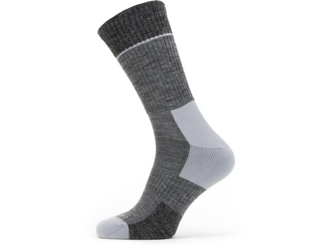 Sealskinz Solo QuickDry Mid Sokken, grey